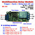 Led Home Automation Delay Timer Control Switch Relay Module Digital Display Plc