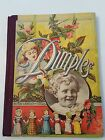 Antique 1889 Victorian Childrens Illustrated Story Book Dimples Belford