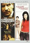 The Constant Gardener The Shape of Things DVD 2009 Canadian Full Screen