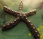 STARFISH PENDANT FOCAL SILVER METAL 46X51 MM