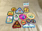 Mixed Lot of 12 GSA Girl Scout Uniform Patches 1980s and Such Lot O