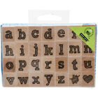 Hero Arts Mounted Rubber Stamp Set 3x45 Stylish Letter Lower Case