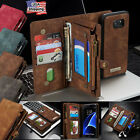 Leather Removable Magnetic Wallet Flip Card Case F Samsung Galaxy Note 8 S8 Plus