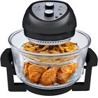 Big Boss 6-Quart Oil Less Fryer Electric Home Kitchen Cooking Tool Black New