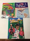 Lot Abeka 1st Grade Discovering Gods Word Health  My America Student Books3
