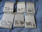 Recollections 6 Embossing folders with dies New Item NIP different