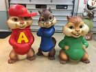 Life Size Alvin and the Chipmunks Simon Theodore Full Size Statues Props