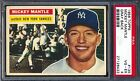 1956 Topps — Mickey Mantle (Gray Back) #135 — PSA 4 — HIGH END