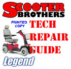 ULTIMATE SERVICE GUIDE For Pride LEGEND Scooter Technical Repair Manual