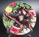 FITZ AND FLOYD EXOTIC JUNGLE MONKEY SALAD PLATE-NEW WITH TAGS