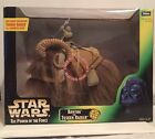 STAR WARS POWER OF THE FORCE BANTHA AND TUSKEN RAIDER WITH GADERFFII STICK POTF