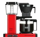 Technivorm Moccamaster KBG741 AO Filter Coffee Maker Brewer Red Genuine NEW
