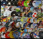 Wholesale Lot of 100 Used Assorted Bulk DVD Disc Only No Duplicate Free S