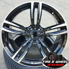 20 BMW M4 Wheels fits 4 5 6 Series M6 Sport Style 437 in Black Machined Rims