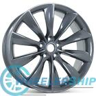 New 21 x 85 Front Wheel for Tesla Model S 2012 2017 Rim 98727 Charcoal