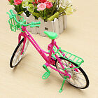 16 Hot Toy Plastic Bike Bicycle With Basket For Barbie Doll Outdoor Accessories