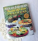 Weight Watchers Healthy Life Style Cookbook hardback Recipes vintage 1990