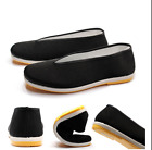 Chinese Kung Fu Tai Chi Shoes Material Art Slip RUBBER Sole Canvas Slippers