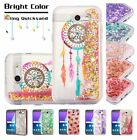 Samsung GALAXY J3 Prime Sol 2 Bling Hybrid Liquid Glitter Rubber Hard Case Cover