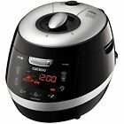 Rice Cookers Cuckoo CRP-HY1083F Cup Pressure Rice Cooker, 110V, Black