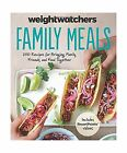 Weight Watchers Family Meals 250 Recipes for Bringing Family F Free Shipping