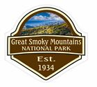 Great Smoky Mountains National Park Sticker Decal R1466
