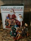 Fitz & Floyd Old Fashioned Christmas Santa Holiday Musicals Music Box Toy Land
