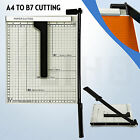 10 x 12 Paper Cutter Guillotine Metal Base Trimmer Scrap Booking Home Office