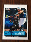 Sierra Romero University of Michigan Softball Auto Autograph Rookie Card PROOF