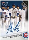 2017 Topps Now 31B Autograph # to 49 - Anthony Rizzo with WS Trophy