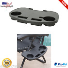 Zero Gravity Chair Cup Holder Side Tray Folding Table Picnic Portable Beach Camp