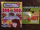 Lot of 2 Weight Watchers Weight Loss Cookbooks Hungry Girl by Lisa Lillien