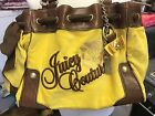 Juicy Couture Bag Yellow And Brown