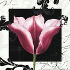 Damask Tulip III by Pamela Gladding Art Print, 12 x 12 inches