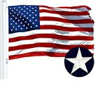 G128  American Flag US USA  2x3 ft  Embroidered Stars Sewn Stripes Grommets