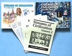 STREAMS OF CIVILIZATION Christian Liberty Press Vol 12 w Teachers Guide  Test