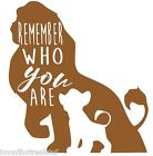 Lion King 6 Simba Decal Sticker Best Gift ALL DECALS BUY 2 GET 1 FREE