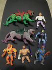 Vintage Masters of the Universe MOTU Battle Armor Skeletor and He Man Figure Lot