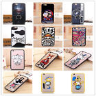 Cute Hello Kity Holder Stand Soft Clear Case Cover for iphone 6 47 6s 55
