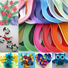 120 Stripes Quilling Paper 3mm Width Solid Color Origami Paper DIY Hand Craft cn