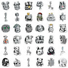 925 Silver European Sterling Animals Charms Bead for Bracelet Chain Necklace US9