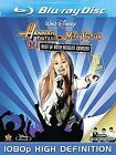 Hannah Montana and Miley Cyrus Best of Both Worlds The 3D Movie Blu Ray