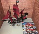 Lego 4195 POTC Queen Anne's Revenge Pirate Ship Set Minifigures Manuals