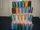 NEW 24 Cones Sewing Serger Quilting Thread Different Colors 4000 yds ea