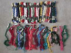 Lot of Anchor  DMC Pearl Cotton  5 Needlepoint Embroidery Thread