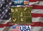 Giant Outdoor Wooden Initials Tic Tac Toe Wedding Lawn Yard Game Tailgate BBQ