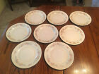 Set of 8 Homer Laughlin Eggshell Georgian Cashmere Dinner Plates