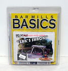 Bar Mills Basics~#0752~HO~Zak's Shack~Easy Craftsman Kit~OOP
