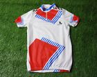 RARE VINTAGE CYCLING SHIRT JERSEY MAGLIA TRIKOT MADE IN ITALY BLACKY SIZE L