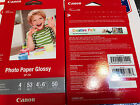 4 pk Canon Photo Paper Glossy 4 x 6 50ct 200 Sheets Total FREE SHIP